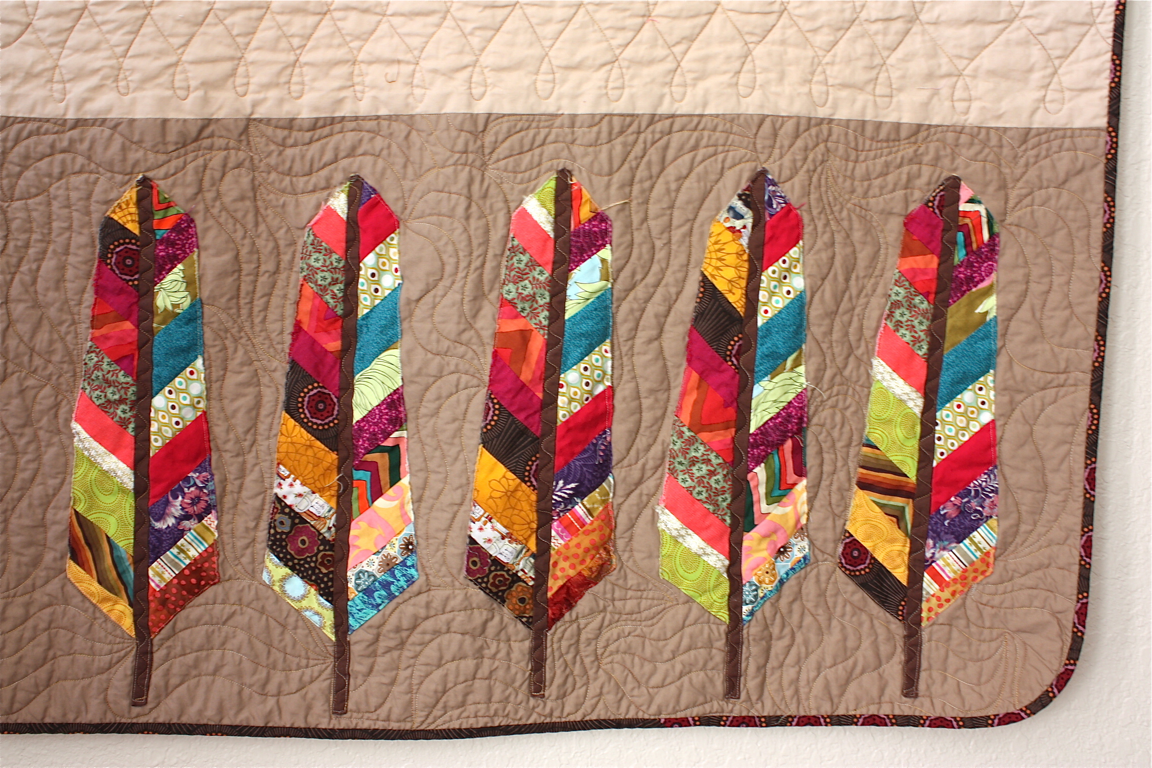 AMH Feathers | Nacho Mama's Quilt : feather quilt pattern - Adamdwight.com