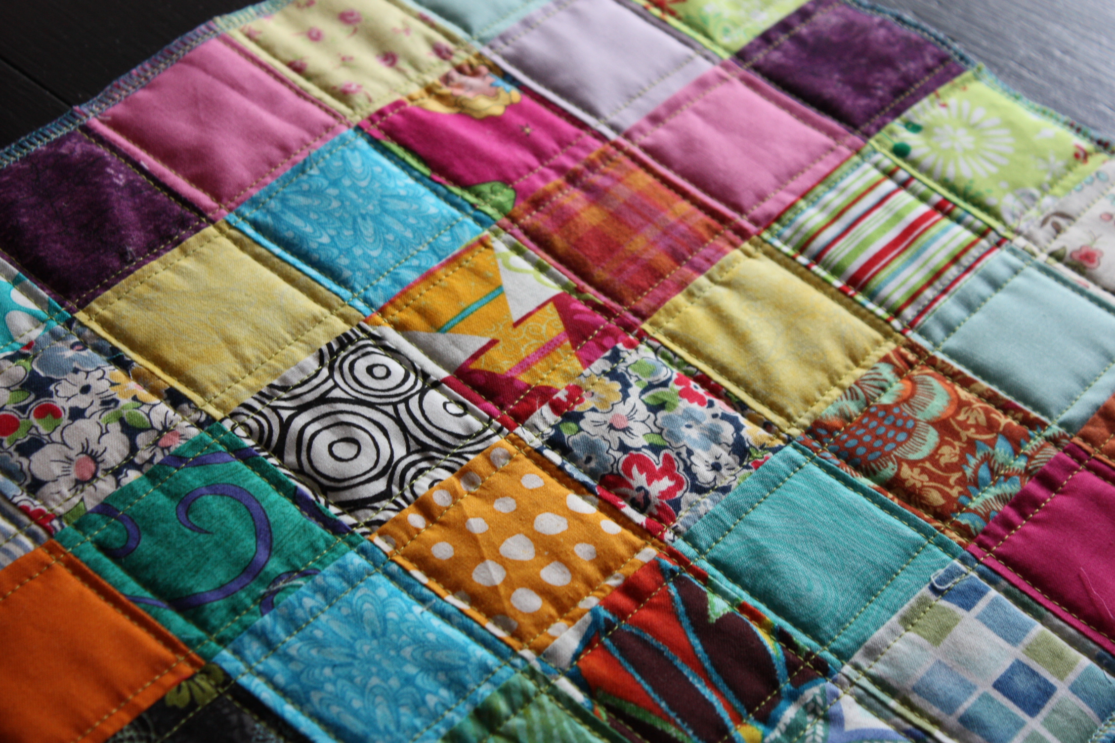 Scrappy Placemats Nacho Mama S Quilt